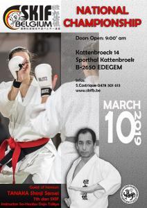 SKIFB 2019 Poster Belgian Championships